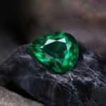Emerald Gemstone Beauty Shot background