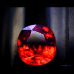 Grenat Mandarin 12.08cts - Photo Mediam Suisse - Tous droits réservés